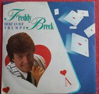 "Freddy Breck / Herz As ist Trumpf / Hoffnung (Ave Maria) 7"" Single Vinyl"