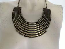 Brass Bib Fashion Necklaces & Pendants