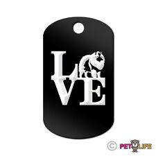 Love Keeshond Engraved Keychain Gi Tag dog park v2 kees Many Colors