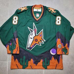 Phoenix Coyotes Peyote Alternate Danny Briere Autograph Koho Jersey - Large