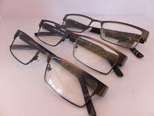 3 Pair Foster Grant Aurora Purple Marbleized Retro Classic Reading Glasses 2.00
