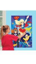 DC super hero fiesta juego pregunto Mujer Super Girl Batgirl Cumpleaños Juegos Pin la