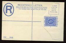 East Africa & Uganda - 1913 - Postal Stationery - Specimen - Reg Envelope - HGC2