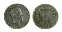 s644_7) Regno Vittorio Emanuele II (1861-1878) 5 Lire 1865 Napoli