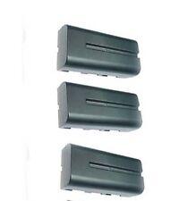 THREE 3X NP-F330 NP-F550 NP-F560 NP-F570 Batteries for Sony AX2000 FX1 FX1000