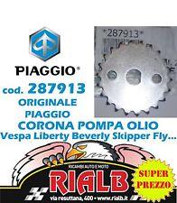 CORONA POMPA OLIO 287913 ORIGINALE PIAGGIO per SFERA VESPA HEXAGON SKIPPER FREE