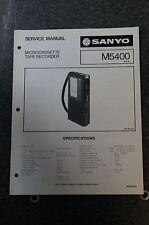 Sanyo M5400 Service Manual