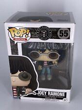 Joey Ramone- Funko Pop! Rocks #55 Collectible Action Figure Ramones Orig Case