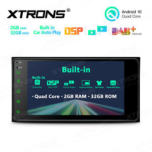 """7"""" Android 10.0 Car GPS Navi Quad Core Stereo Radio SD for TOYOTA Corolla Hilux"""