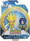 Sonic the Hedgehog SUPER SONIC Action Figure 🔥 FREE DOMESTIC/PR SHIPPING 🔥