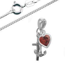 Glaube Liebe Hoffnung Anhänger mit Kette- 925er Sterling Silber- NeU