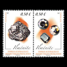 "TAAF 2018 - Minerals ""Ilmenite"" Nature - MNH"