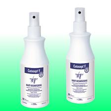 Cutasept® F - 2 x 250ml Antiseptikum farblos Hautdesinfektion Sprühflasche