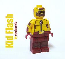 LEGO Custom - Kid Flash - Super heroes DC mini figure CW tv series