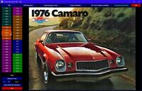 Ford Mustang Sales Brochures digital collection DVD-ROM 1964-2020