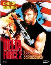 Steelbook DELTA FORCE 2 II - UNCUT FUTUREPAK 3D LENTICULAR Chuck Norris BLU-RAY