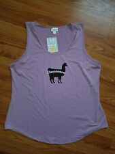 Lularoe 3xl Tank Llamacorn Purple