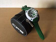 New - Reloj Watch CP5 Simplicity & Originality - White and Green color - Quartz