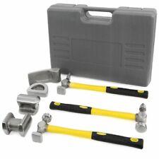 7pc fiber glass handle Auto Body Repair Tools Fender Tool Kit Hammer Dolly Dent