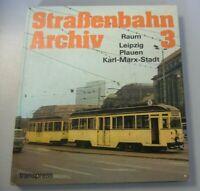 Straßenbahn Archiv 3 DDR  Raum Leipzig Plauen Karl-Marx-Stadt Chemnitz ~1984*