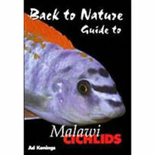Back to Nature guide to Malawi cichlids fisch buch von Ad Konings 2. edition