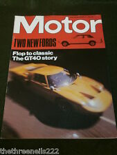 MOTOR MAGAZINE - THE FORD GT40 STORY - JAN 17 1976