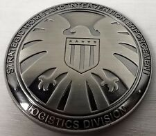 AGENTS OF S.H.I.E.L.D. Marvel TV Series Metal Prop Badge with Badge Holder