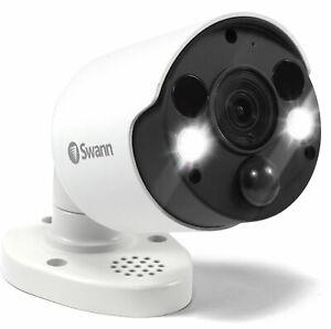 Swann SWNHD-885MSFB UHD 4K Thermal Sensing Bullet Spotlight IP Security Camera