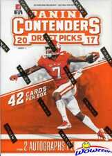 2017 Panini Contenders Football Draft Sealed Blaster Box-2 AUTOS! MAHOMES RC YR