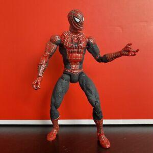 "6"" Super poseable SPIDERMAN Raimi Movie Spider-Man 2 Movie Marvel Legends ToyBiz"