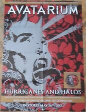 AVATARIUM Hurricanes And Halos BIG POSTER ! Black Sabbath/Orchid/Krux/Candlemass