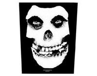 OFFICIAL LICENSED - MISFITS - FACE SKULL SEW ON BACK PATCH METAL PUNK DANZIG