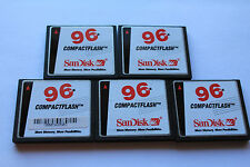 5pcs 96MB white Sandisk Compactflash CF I memory card FOR CF cameras,Routers
