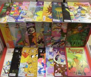 ADVENTURE TIME 1-47 KABOOM LOT 51 COMICS A & B FINN JAKE VARIANT 2012 NM NEW!!!