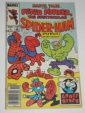 MARVEL TAILS Peter Porker Spider-Ham #1 VGFN / FN- NEWSSTAND 1st appearances