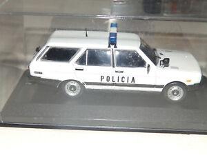 IXO ALTAYA 1/43 SEAT 131 PANORAMA SUPER DIRECCION GENERAL DE LA POLICIA 1981