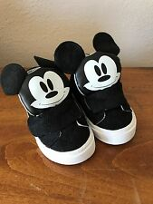 NWOT Disney Mickey Mouse Infant Baby/Toddler Shoes Sz 18-24 months Sneakers