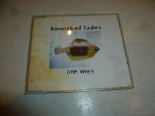 BARENAKED LADIES - One Week - 1998 UK / German-pressed 3-track CD single