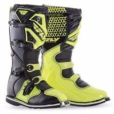 Fly Racing Maverik Boots 2016 Hi Viz Adult Motocross MX Dirtbike SIZE 10