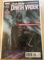 Marvel Comics Darth Vader #1 Disney Lucasfilm Comic Book NM