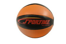 Sportime Strength Medicine Ball, 11 Pounds, Orange and Black