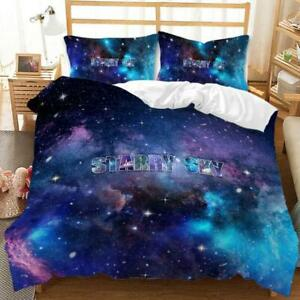 Starry Sky Night Sky Bedding Sets Duvet Covers Pillowcase Firmament Quilt Cover