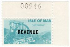 (I.B) Elizabeth II Revenue : Isle of Man 50p (Lady Isabella)