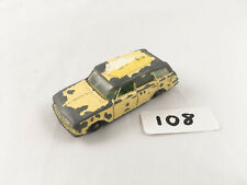 LESNEY MATCHBOX # 38B VAUXHALL VICTOR ESTATE CAR DIECAST 1963-67 YELLOW/GREEN