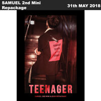 SAMUEL Teenager 2nd Mini Album Repackage CD+Poster+Book+Post+PhotoCard+Etc KPOP