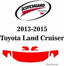 3M Scotchgard Paint Protection Film Clear Bra 2013 2014 2015 Toyota Land Cruiser