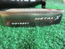 "Odyssey Metal-X #2 34"" Heel-Shafted right hand blade insert Putter W/Head Cover"