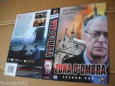 Locandina vhs ZONA  D' OMBRA (1998)  Fox  Video originale - used