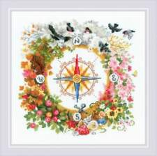 "Counted Cross Stitch Kit RIOLIS 1881 - ""Compass"""
