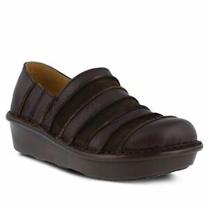 Spring Step Women's Firefly Slip-On Shoe Brown